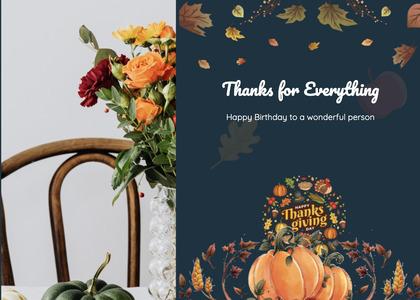 thanksgiving card 40 plant floraldesign