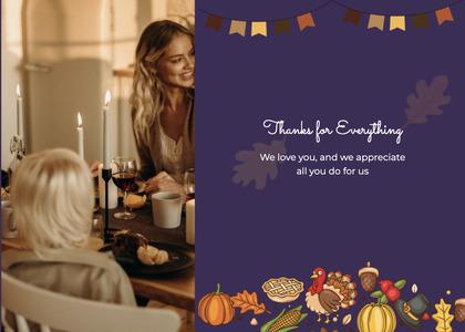 thanksgiving card 45 person human