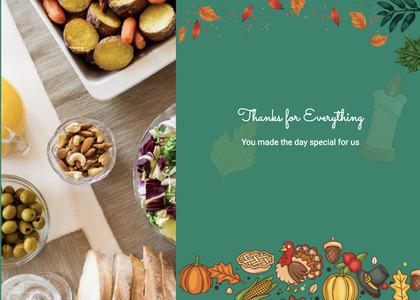 thanksgiving card 52 plant food
