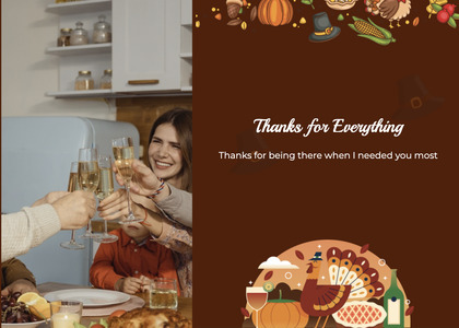 thanksgiving card 56 person advertisement
