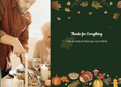 thanksgiving card 66 person dating