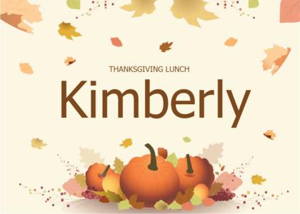 thanksgiving card 7 plant pumpkin