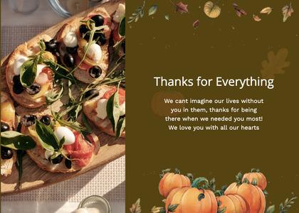 thanksgiving card 72 plant advertisement