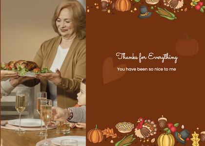 thanksgiving card 76 person human