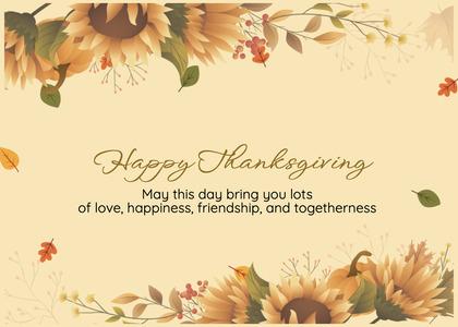thanksgiving card 78 floraldesign graphics