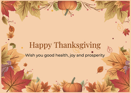 thanksgiving card 81 label text