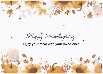 thanksgiving card 82 graphics art