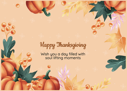 thanksgiving card 85 person human