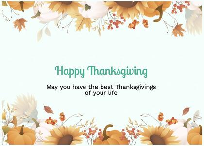 thanksgiving card 88 graphics art