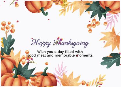 thanksgiving card 93 envelope mail