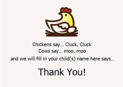 thankyou card 12 text poster