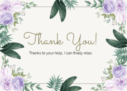 thankyou card 16 floraldesign graphics