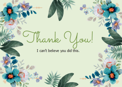 thankyou card 18 floraldesign graphics