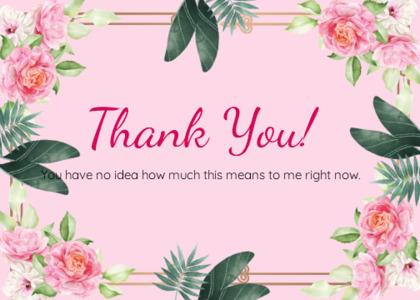 thankyou card 19 floraldesign graphics