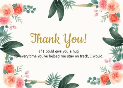 thankyou card 22 floraldesign graphics