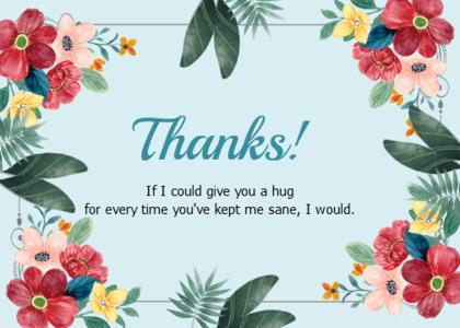 thankyou card 23 floraldesign graphics