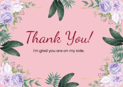 thankyou card 28 floraldesign graphics
