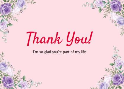thankyou card 31 floraldesign graphics