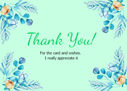 thankyou card 33 floraldesign graphics