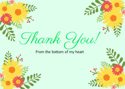 thankyou card 35 floraldesign graphics