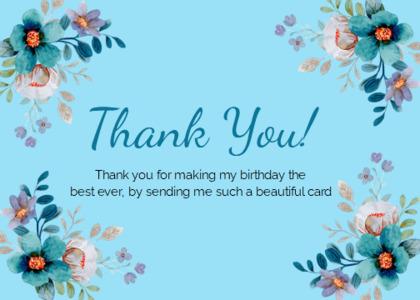 thankyou card 37 floraldesign graphics