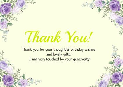 thankyou card 39 envelope floraldesign
