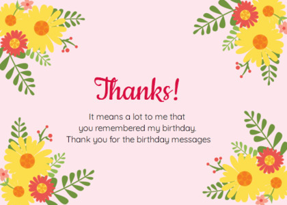 thankyou card 40 floraldesign graphics