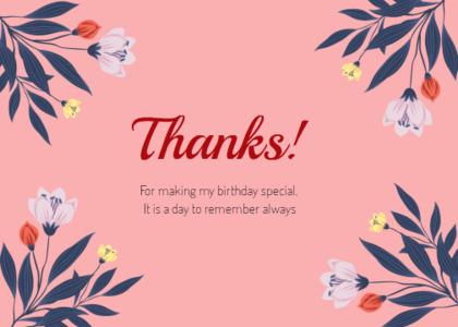 thankyou card 42 floraldesign graphics