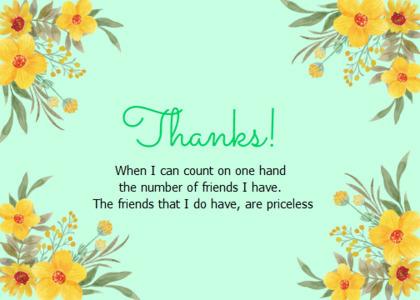 thankyou card 45 floraldesign graphics