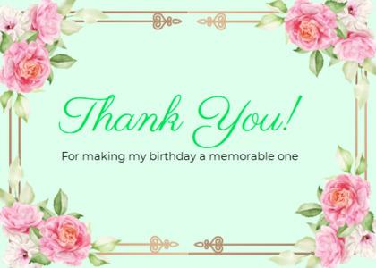 thankyou card 48 envelope mail