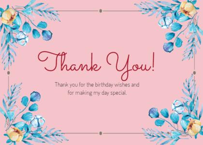 thankyou card 52 envelope mail