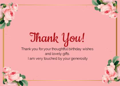 thankyou card 56 envelope text