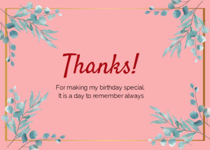 thankyou card 60 floraldesign graphics