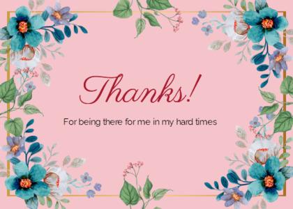 thankyou card 68 floraldesign graphics