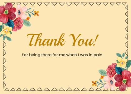 thankyou card 79 envelope mail
