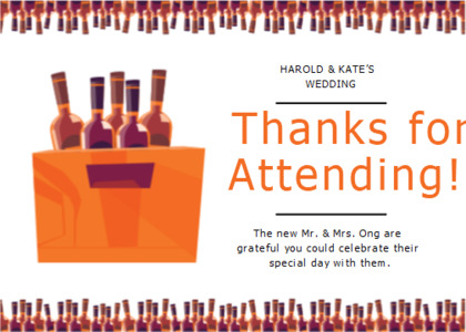 thankyou card 8 alcohol beverage