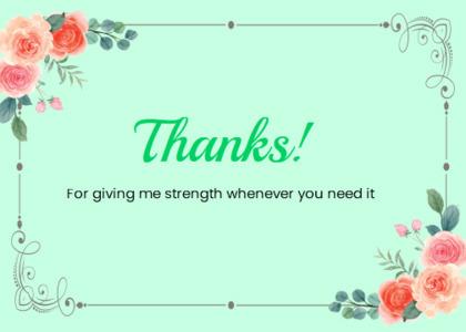 thankyou card 80 floraldesign graphics