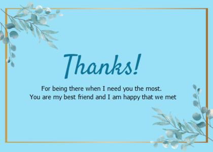 thankyou card 86 text plant