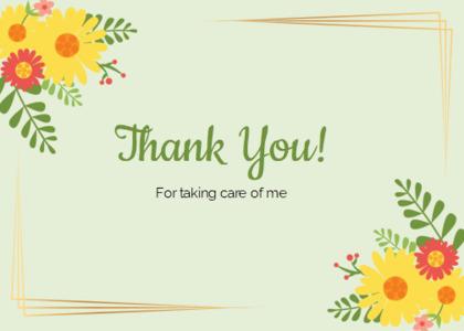 thankyou card 89 floraldesign graphics