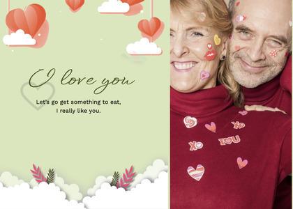 valentine card 109 person human