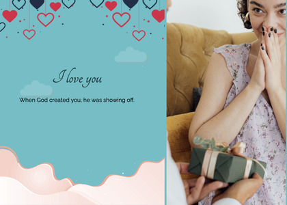 valentine card 112 person human
