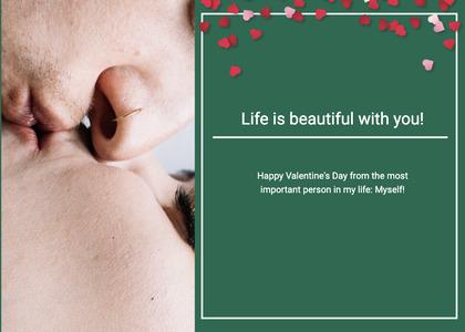 valentine card 119 person human