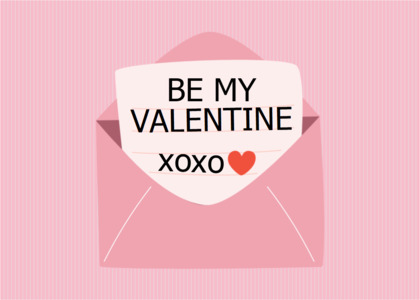 valentine card 12 business card text