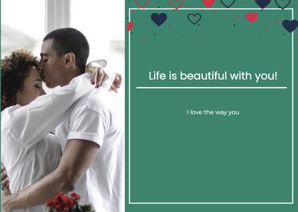 valentine card 122 person human