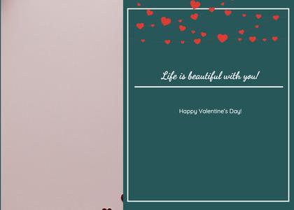 valentine card 124 blackboard temptag