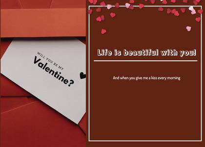 valentine card 126 paper advertisement