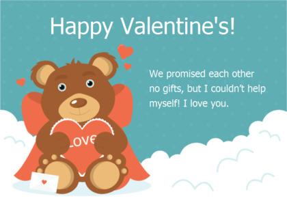 valentine card 14 advertisement poster