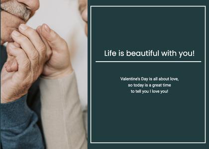 valentine card 148 person human