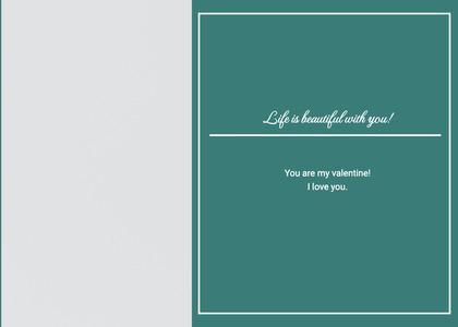 valentine card 153 text blackboard