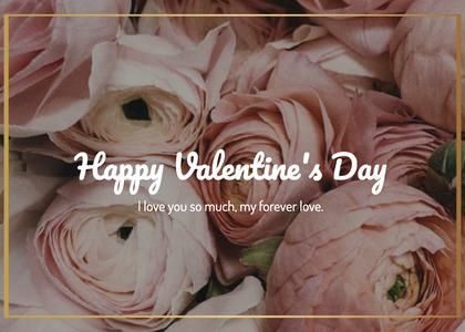 valentine card 174 plant rose